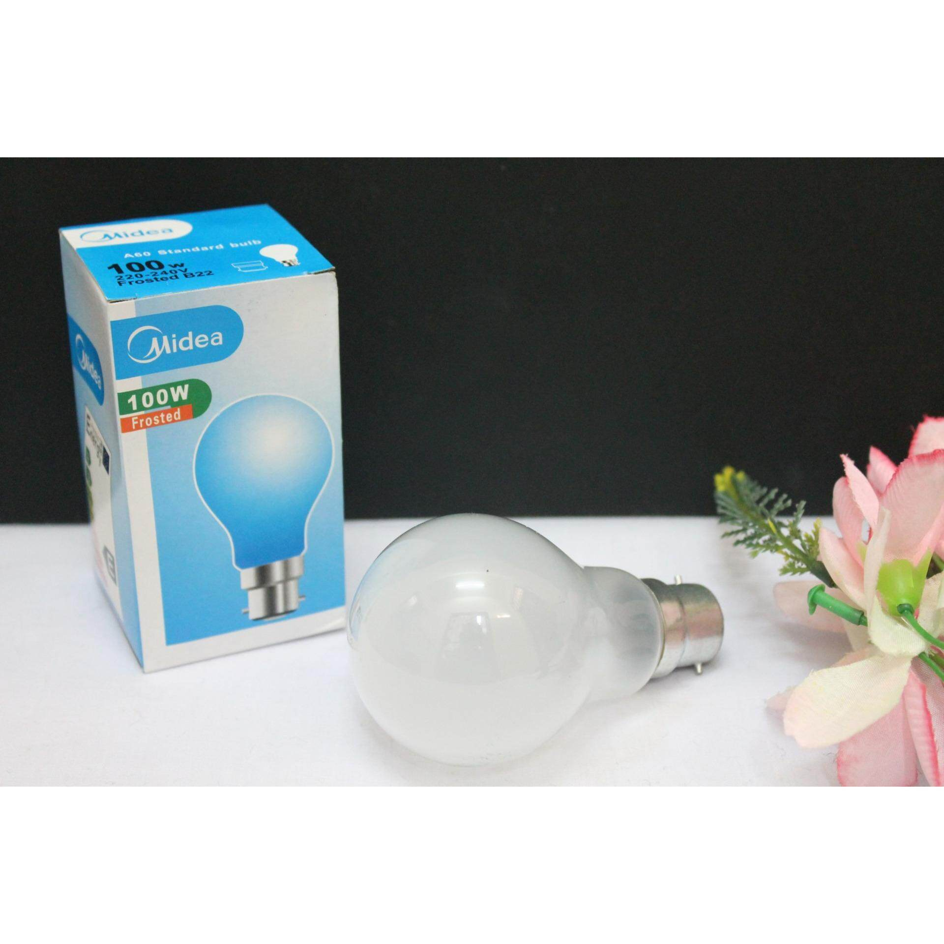 1pc Midea 100w 220-240V Frosted B22 Standard Bulb