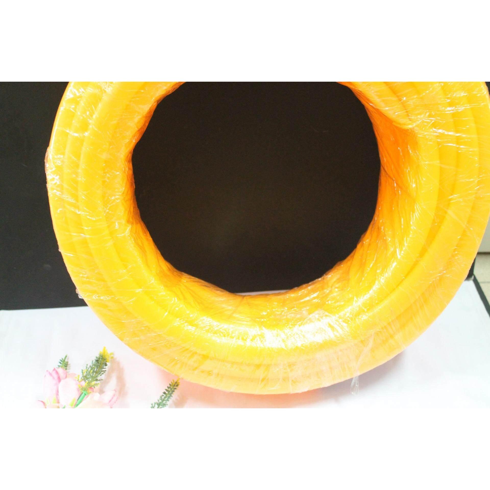 1roll 30 metres Car Wash Orange Water Rubber Pipe 16mm (Orange)