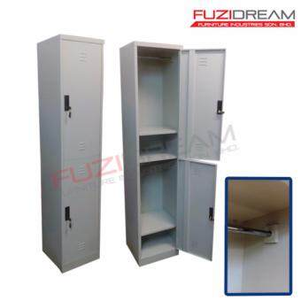 Harga 2 COMPARTMENT METAL LOCKER