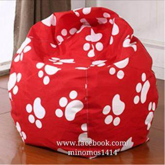 2 Layers Cover Removal Filling Bean Bag Chair Sofa Furniture