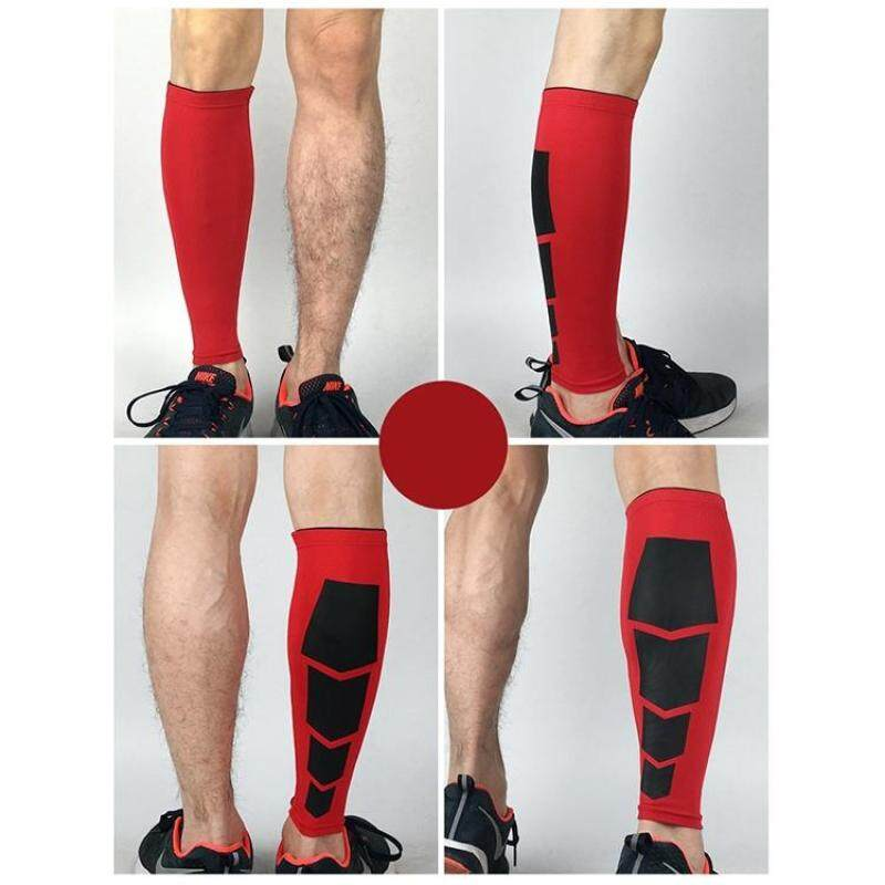 2 PCS Sports High Elastic Thermal Outdoors Climbing Basketball Knee Support Guards, Size: M(Red)