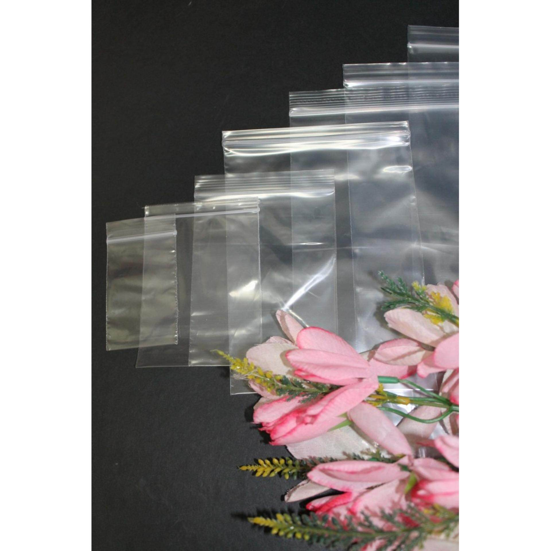 200 pcs Zipper Bag 8X12 inches Packaging Powder,Food,Stationery,Jewelry (clear)
