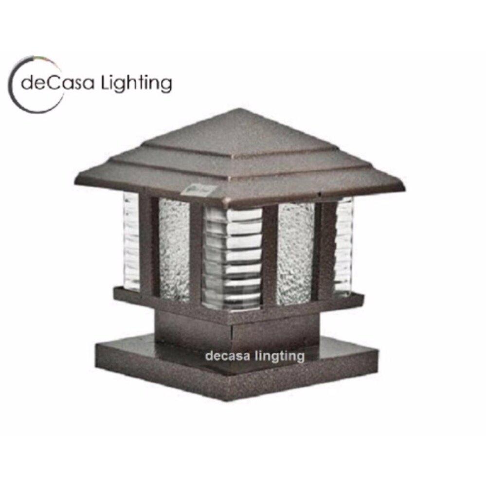 20cm gate lamp decasa outdoor pillar light 20cm gate lamp garden