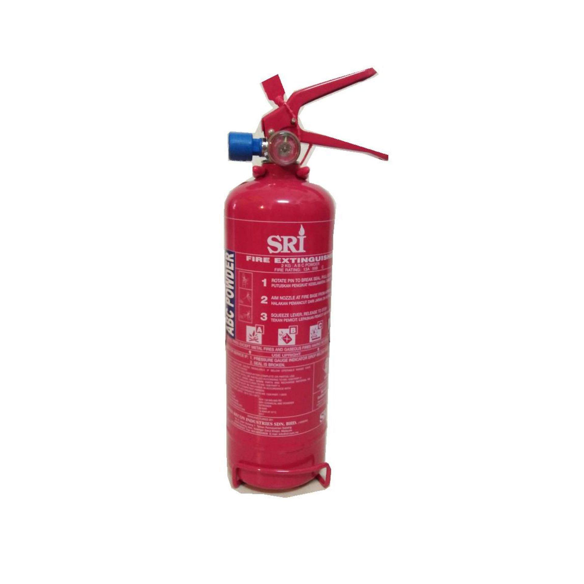 2kg ABC powder branded fire extinguisher for house and car(SIRIM and BOMBA Approved)
