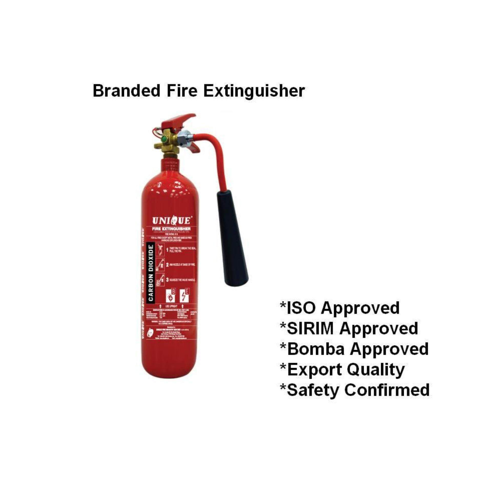 2kg CO2 branded fire extinguisher for house kitchen and electrical ...