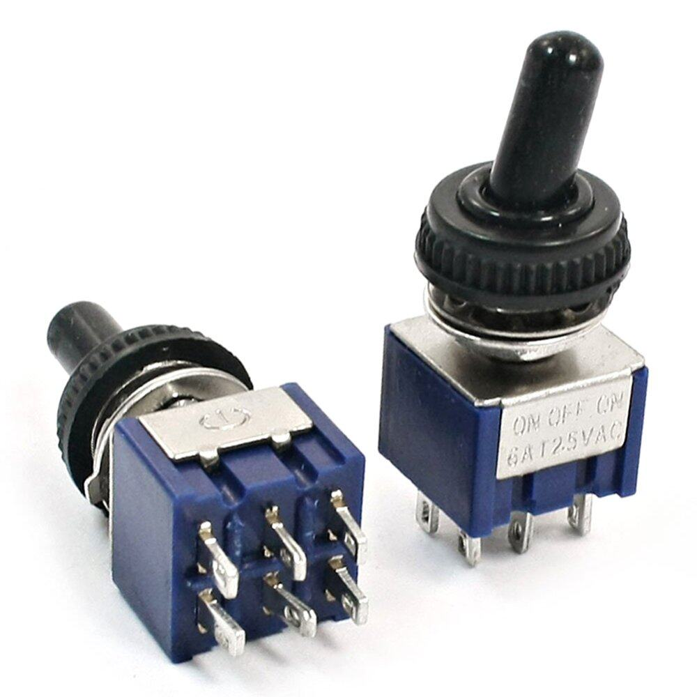 The Price Of Double Pole Throw Dpdt Toggle Switch On Off Heavy Duty Spdt Onon 2pcs Ac 6a 125v 3 Position Power Control