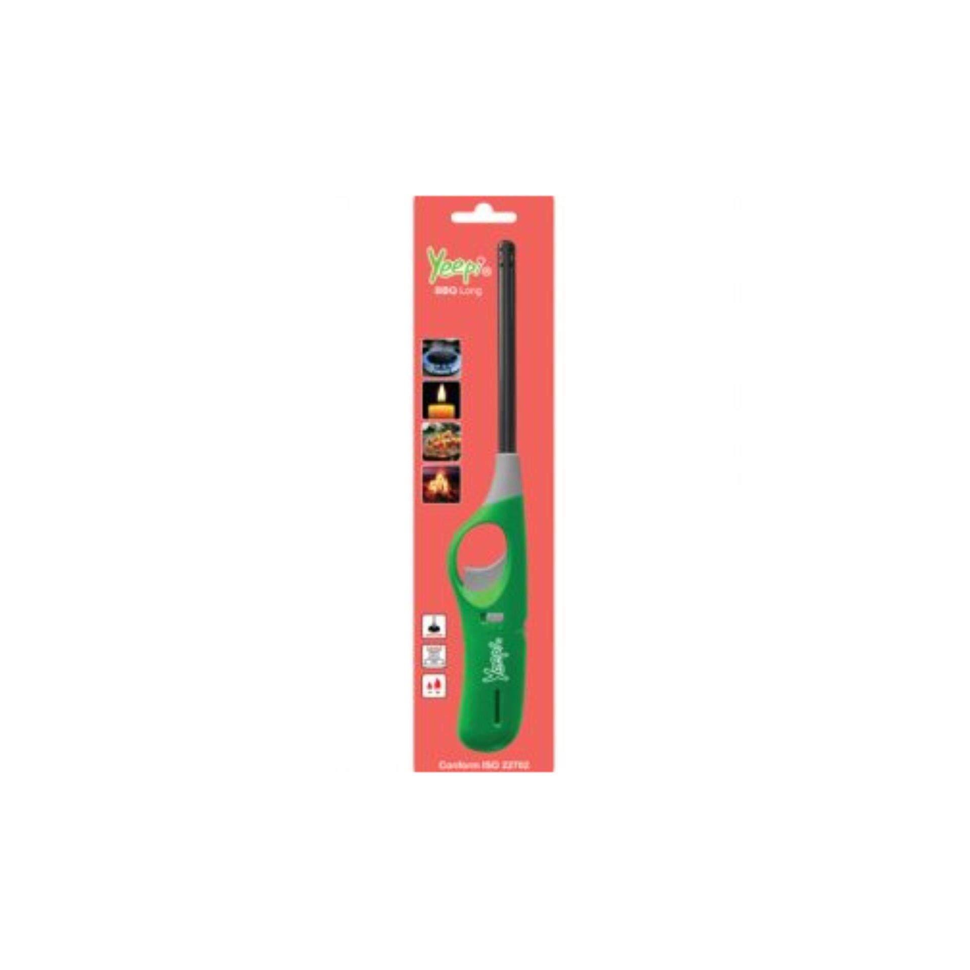 2pcs SIRIM ISO 9994 Yeepi BBQ Long Kitchen Lighter (Multicolour)