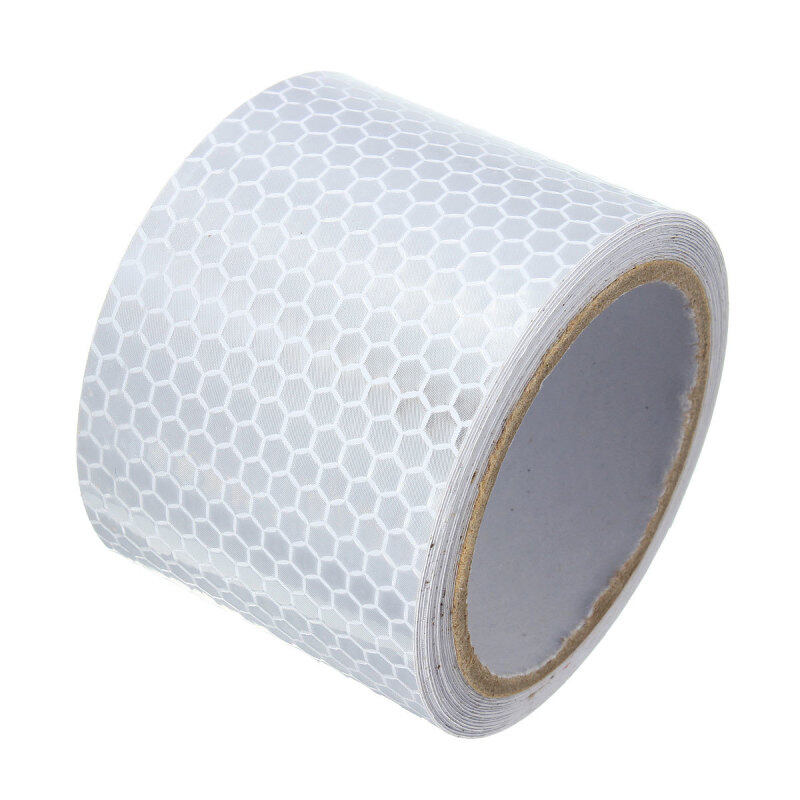Buy 2X10 3M Silver White Reflective Safety Warning Conspicuity Tape Film Sticker Malaysia
