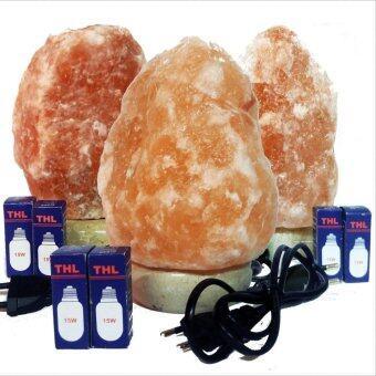 3-5Kg Himalayan Salt Crystal Lamp Set -  Set of 3