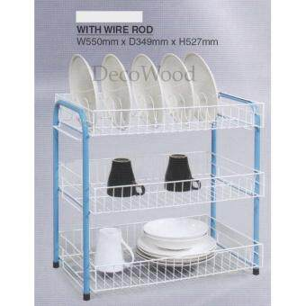 3-Layer Kitchen Rack/Plate Rack/Bowl Rack/Cup Rack/Cutlery