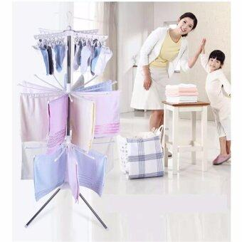 3 Tier Clothes Hanging & Drying Rack (White)