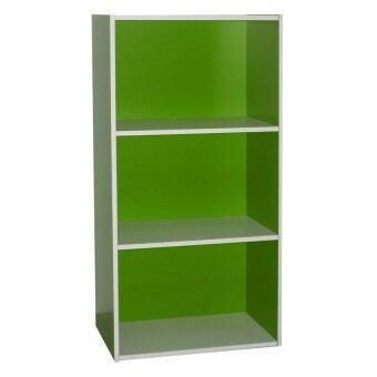 3 tier storage shelf green
