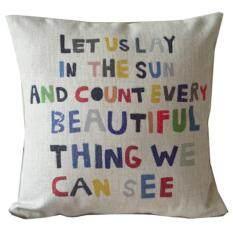 ... 360DSC Bicycle Pattern Printing Cotton Linen Square Shaped Decorative Pillow Cover Pillowcase Pillowslip 45 45cm