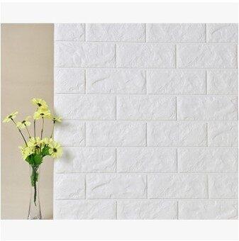 3D Brick Stone Textured Wallpaper