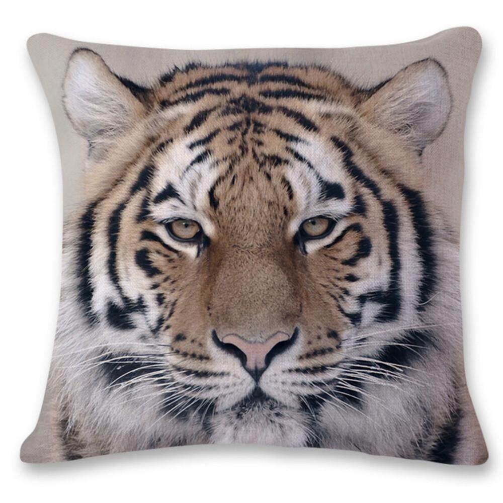 3D Harimau Singa Sofa Tempat Tidur Rumah Dekorasi Festival Bantal Kursi Sarung Bantal Kasus-Internasional