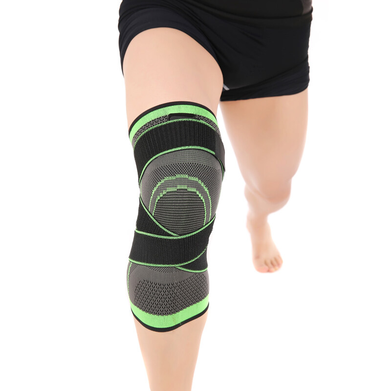 Buy 3D Weaving Pressurization Knee Brace Basketball Tennis Hiking Cycling Knee Support Professional Protective Sports Knee Pad Malaysia