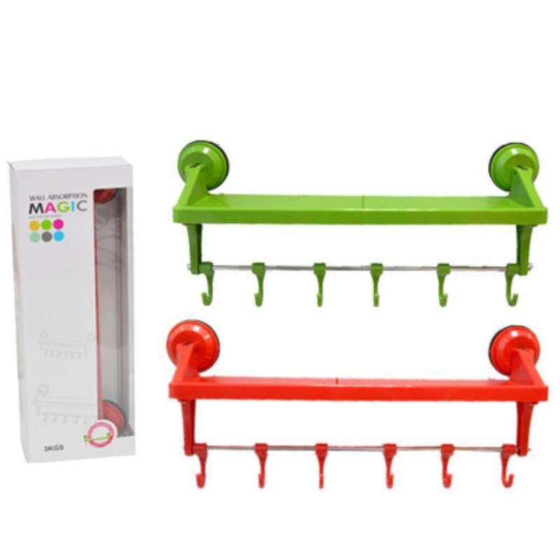 3KG Magic Wall Absorption Holder Suction Cup Series-Red