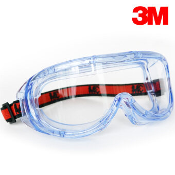 Harga 3M 1623AF Safety Goggles, Chemical Splash