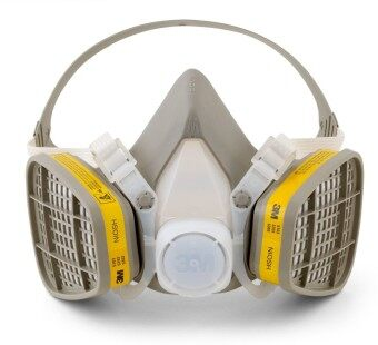 Harga 3M 6200 Half Facepiece Respirator + 3M 6003 Acid Gas/Organic VaporCatridge + 3M 501 Filter Reatainer + 5N11 Particulate Filter