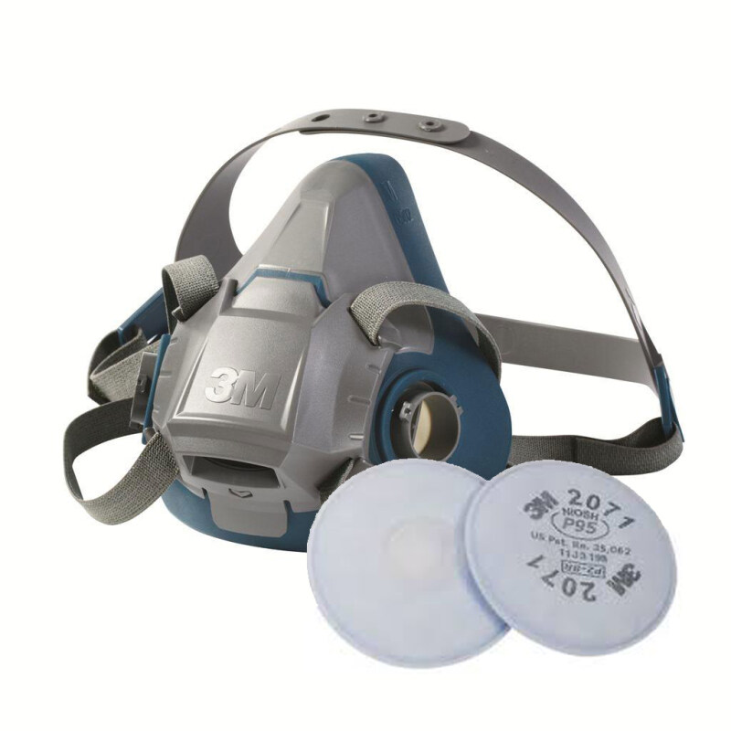 Buy 3M 6502QL Rugged Halfpiece Respirator + 3M 2071 P95 Particulate Filter Malaysia