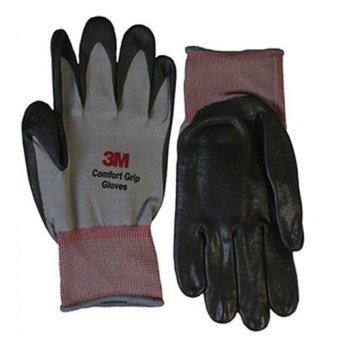 Harga 3M Comfort Grip Gloves (Grey) 10 pairs - M