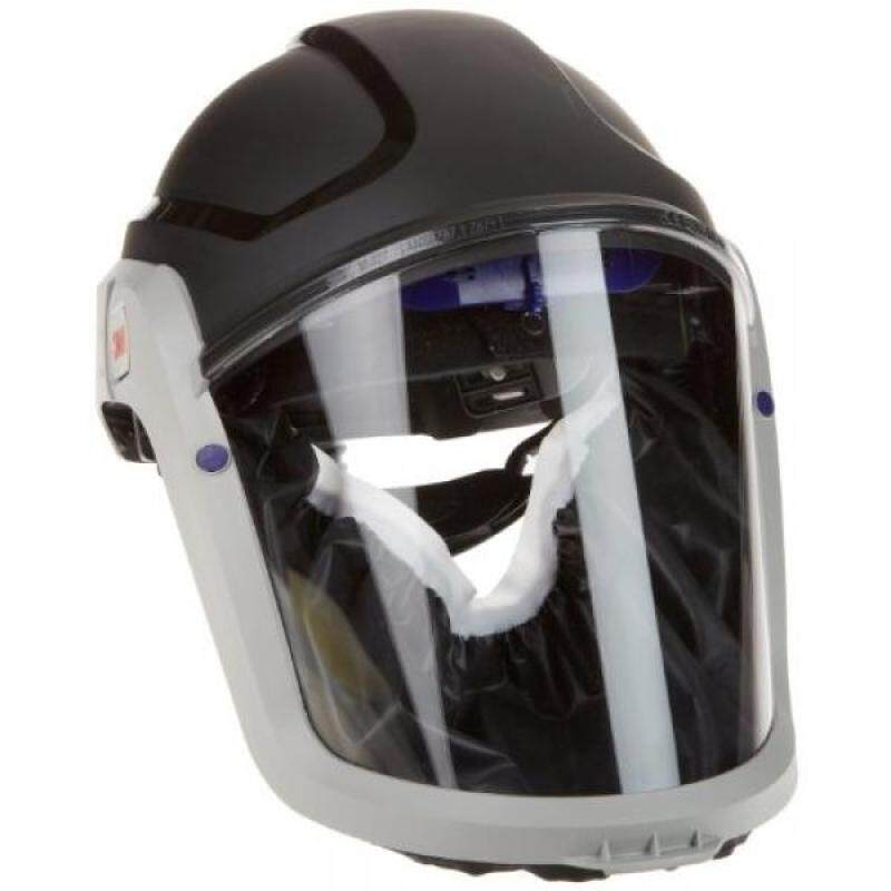 3M M-300 Series Versaflo Respiratory Hardhat Assembly M-307, with Premium Visor and Faceseal