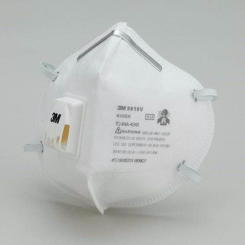 3M N95 Disposable Respirator with valve 9010V (1 Box of 20 Respirators)