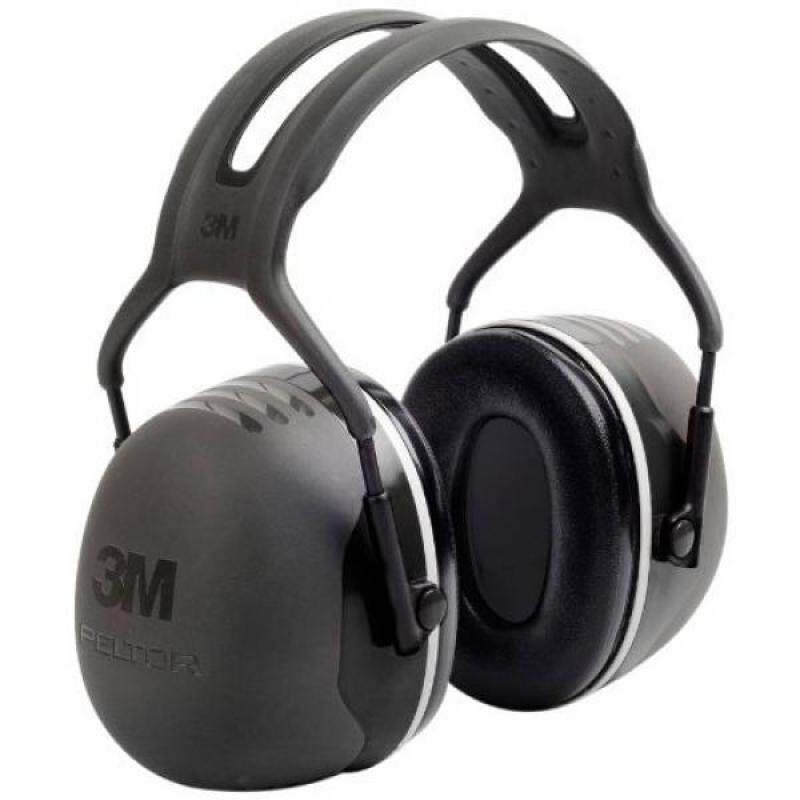 Buy 3M Peltor X-Series Over-the-Head Earmuffs, NRR 31 dB, One Size Fits Most, Black X5A Malaysia