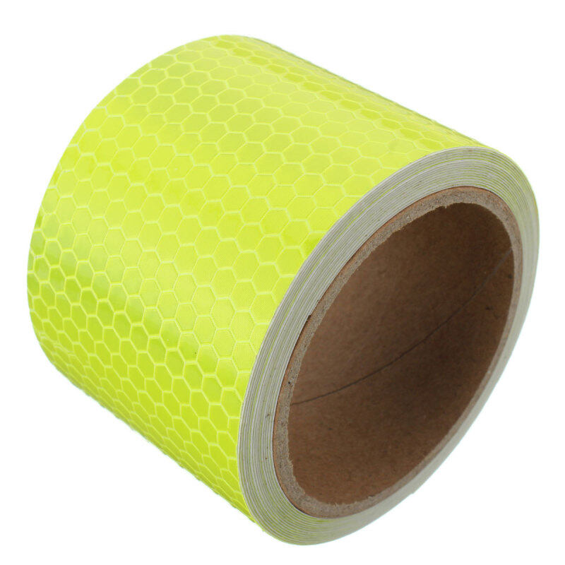 Buy 3M Safety Reflective Warning Conspicuity Film Sticker Strip Self Adhesive Tape Orange Malaysia