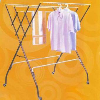Harga 3V Anti-Rust Outdoor Clothes Hanger Copper Color (10 Bars)