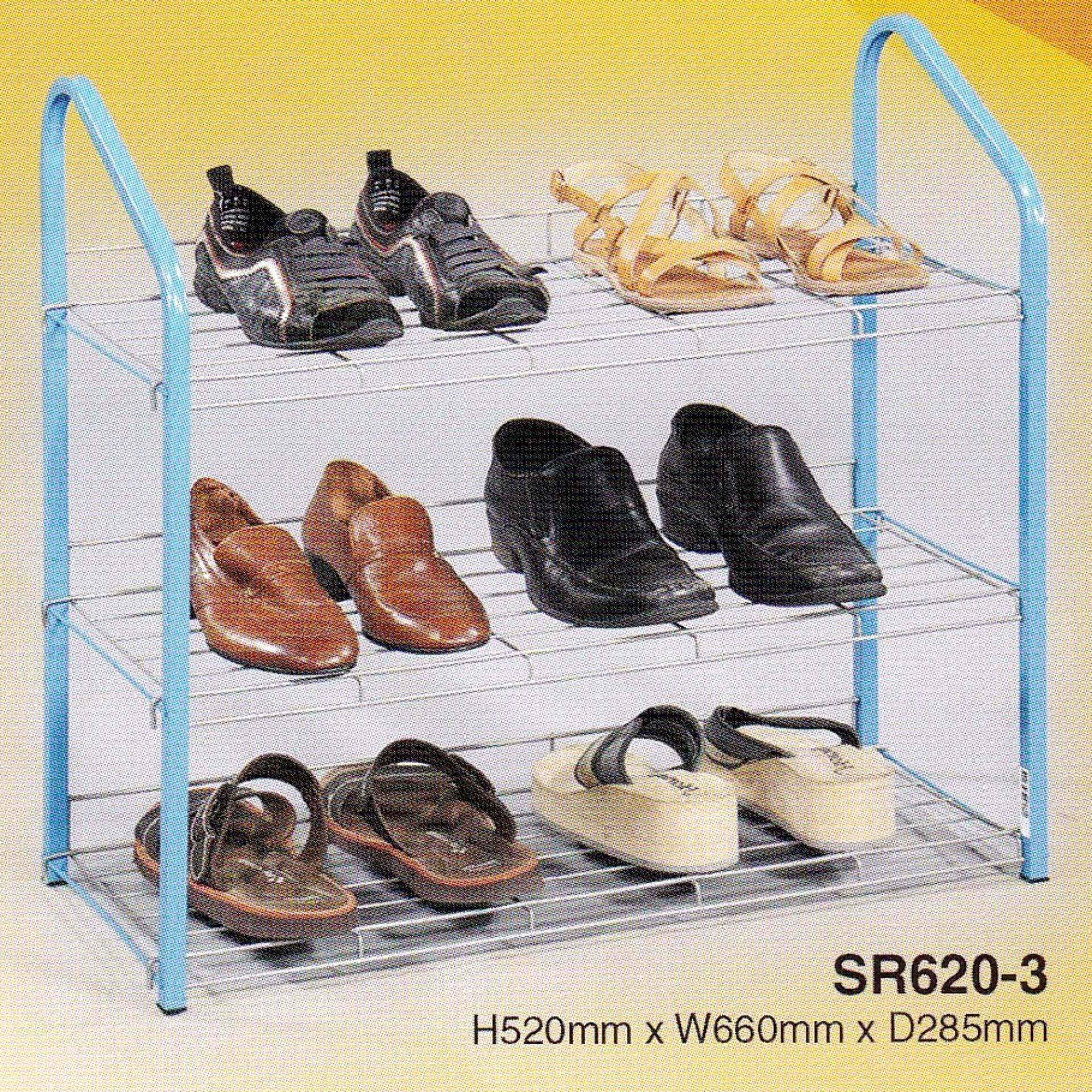 3V Strong Anti-Rust Shoes Rack (3 Layer)
