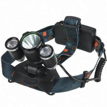 Harga 3x LED XM-L2 T6 Headlamp Headlight Head Light Torch Flashlight Lamp