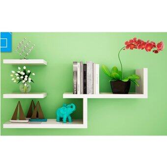 Harga 4 pcs deco wall shelves (Y design)