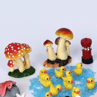 41pcs Miniature DIY Doll House Resin Accessorie Garden Decor LawnOrnaments - 4