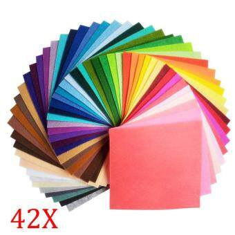 Harga 42 pcs Felt Fabric 1mm Thickness Cloth Felts 20x30cm
