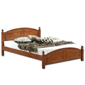 430 Oak Wooden Queen Bed Frame