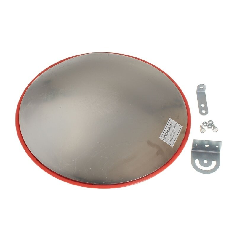 Buy 45cm Wide Angle Security Curved Convex Road PC Mirror Traffic Driveway Safety Malaysia