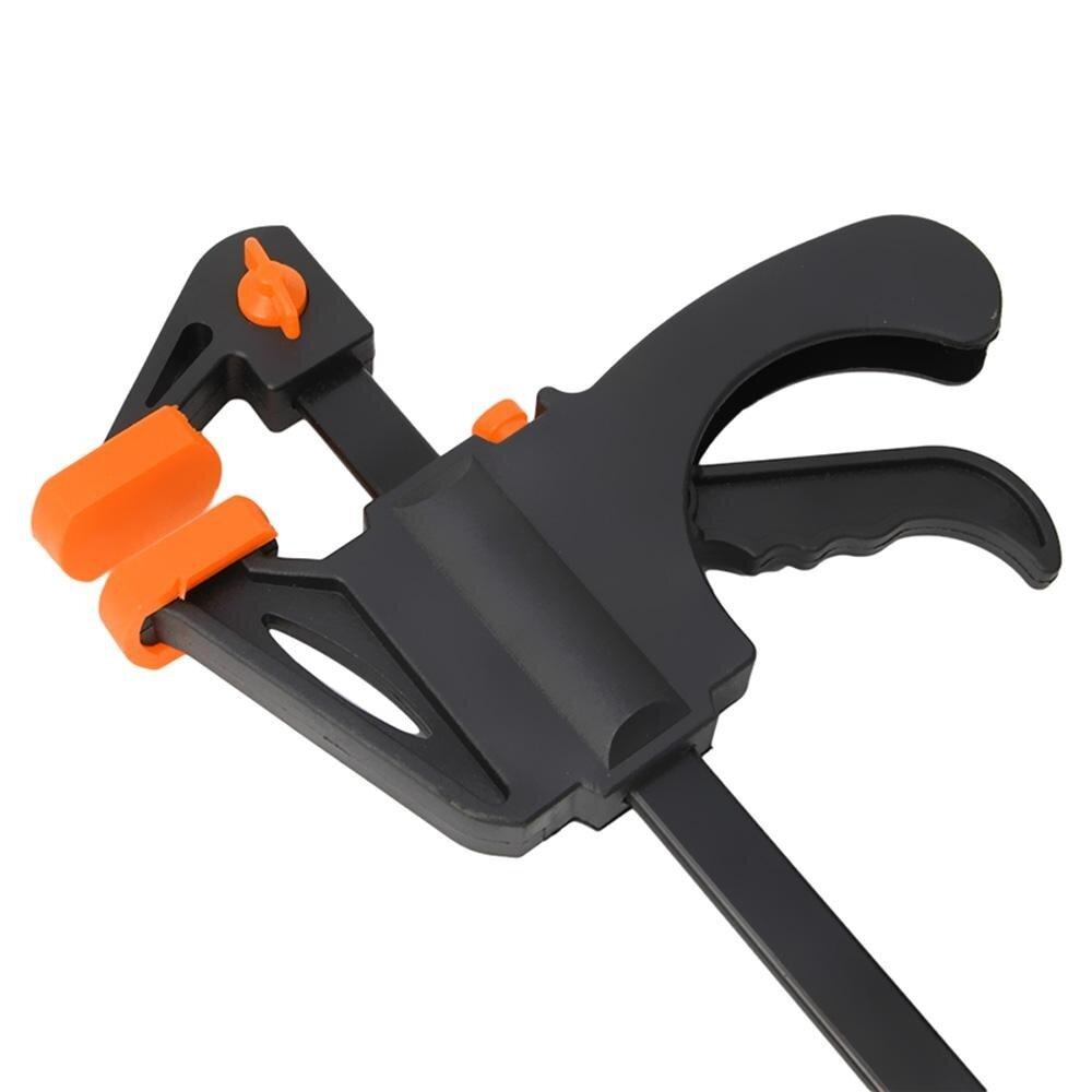 Kelebihan 4 6 8 Inch Woodworking Bar Cepat F Clamping Grip Klem Jepit Kayu Quick Release Diy Clamp Ratchet Squeeze
