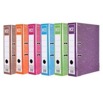 Harga 4pc-A4 Large Lever Arch File Folder With Ring Binder and Metal Finger Pull Multicolour