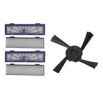 Harga 4PC Filter + 1PC Side Brushes Replacement for Neato Botvac 70e 7580 85