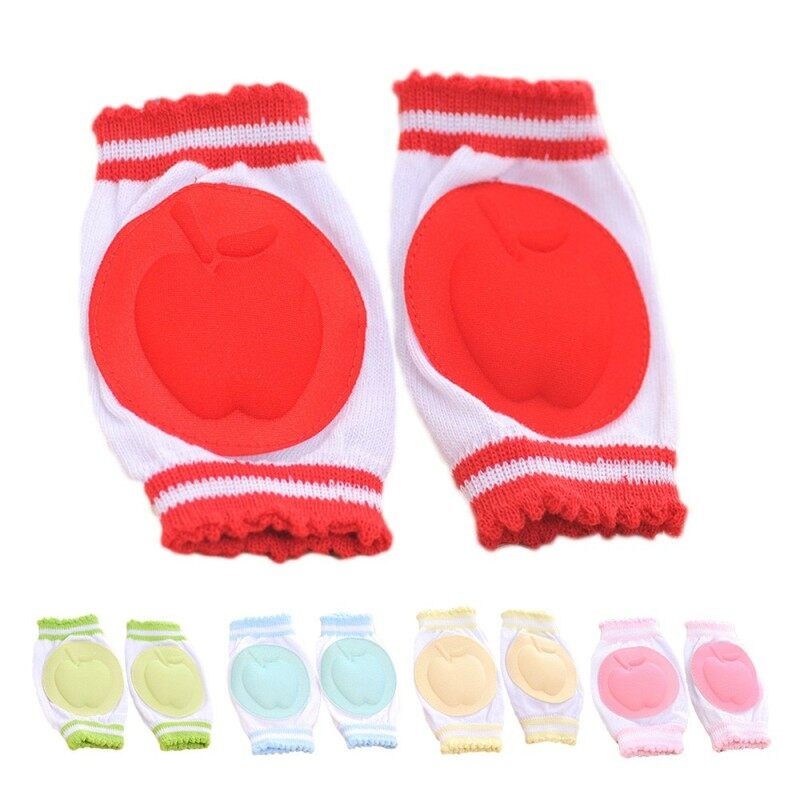Buy 5 Pairs Assorted Colors Breathable Adjustable Elastic Baby Infant Toddler Kneepads Knee Pads Crawling Safety Protector Cushion Malaysia