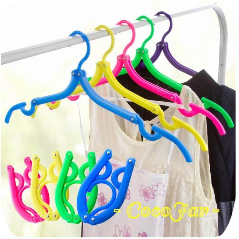 5 Pieces of Portable Travel Foldable Clothes Hanger (1 set)
