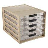 (OW) 5 Tier A4 Drawer Office Organizer