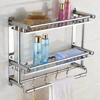 50cm16cm46cmbathroom shelves two layer towel holders bath towel - Bathroom Accessories Malaysia