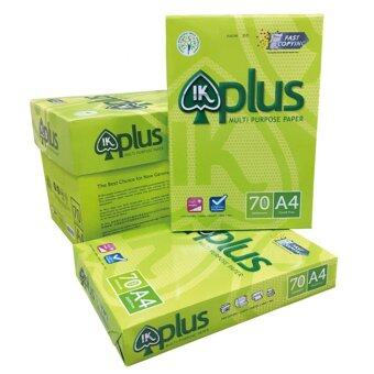 (5Packets) IK Plus Multi Purpose Business Paper A4 70gsm (500sheets/pkt)