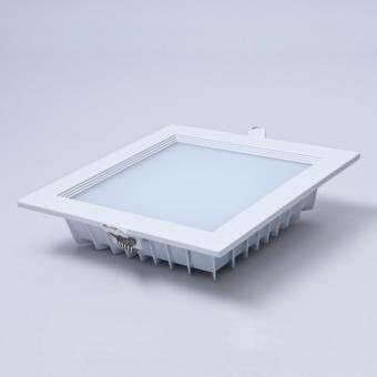 [5pcs] E-TEN 12W SMD 5630 LED Downlight/LED Down Light Square(White) - Warm White - 2