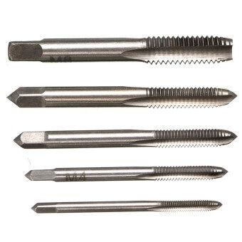 5PCS/Set HSS M3 M4 M5 M6 M8 Machine Hand Screw Thread Metric PlugTap Drill - 3
