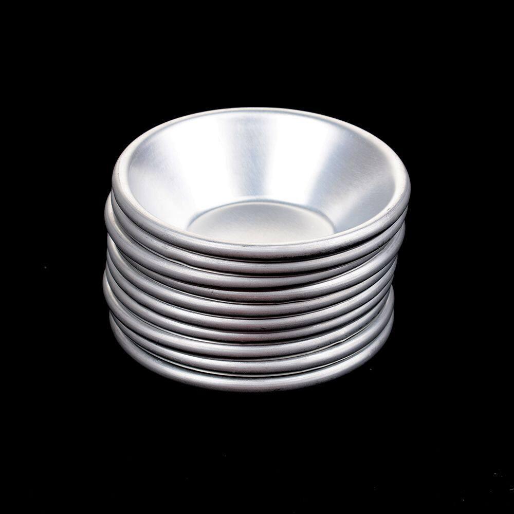 5 Pcs/set Perak Telur Tarts Cetakan Mini Pie Buatan Sendiri Quiche Panggang Pan Kue