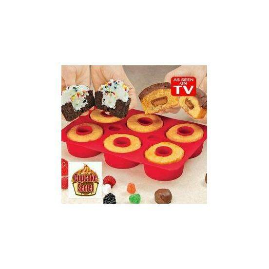 6 Holes Pudding Muffin Cup Silicone Mold Cake Design Silicone Nonstick Bakeware Family Baking Cake Mould