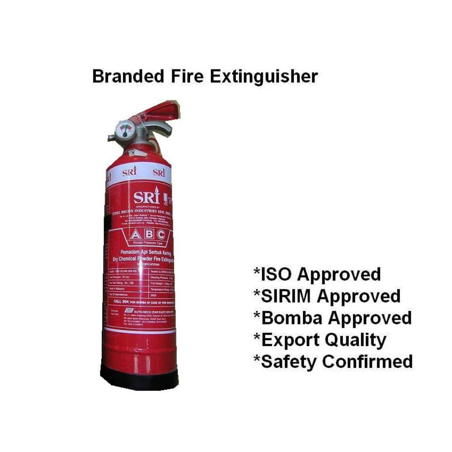 600G ABC powder branded fire extinguisher for house and car(SIRIM and BOMBA Approved)